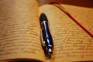 Write (and keep writing) a journal!