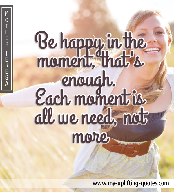 Mother Teresa Happy Quotes