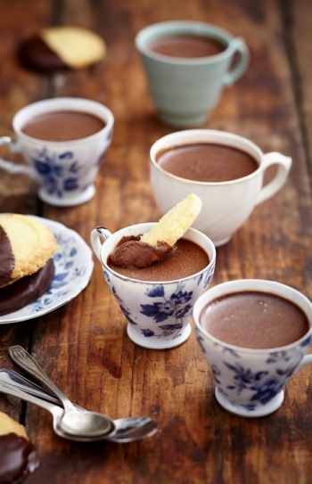 Decadent Chocolate Cups