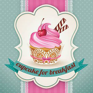 cupcake for breakfast