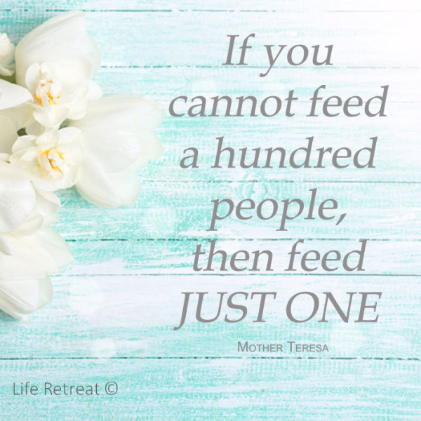 feed just one