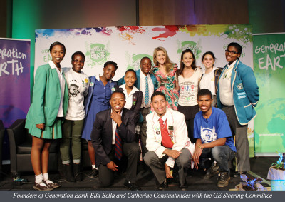 Founders-of-Generation-Earth-Ella-Bella-and-Catherine-Constantinides-with-the-GE-Steering-Committee