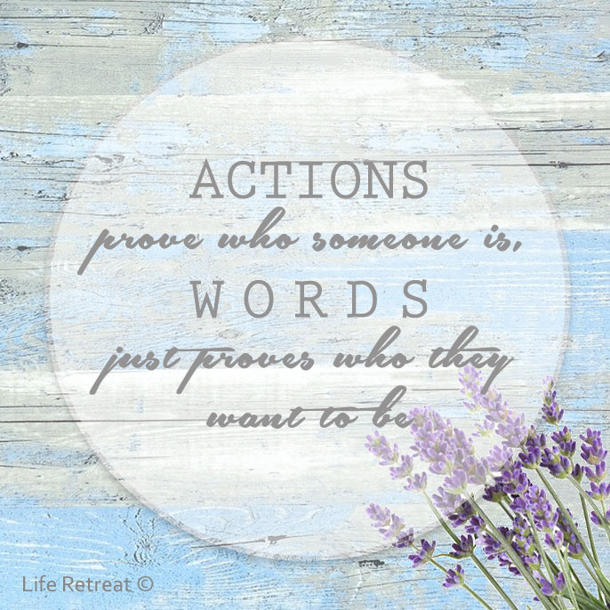actions proves