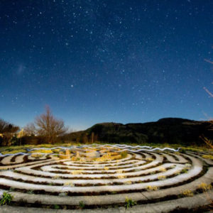 the edge mountain retreat Labyrinth