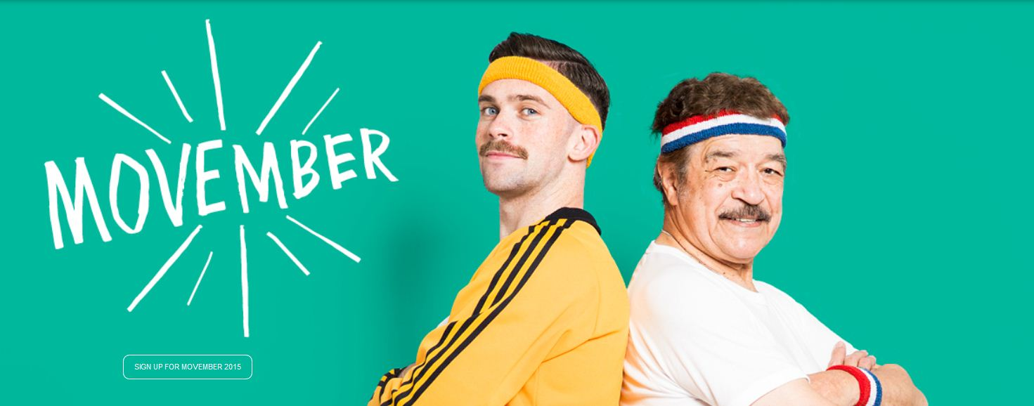 movember sign up
