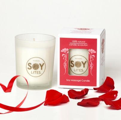 soy lite massage candle