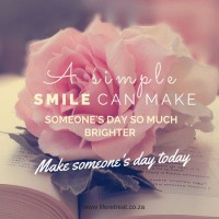 make someone's day smile