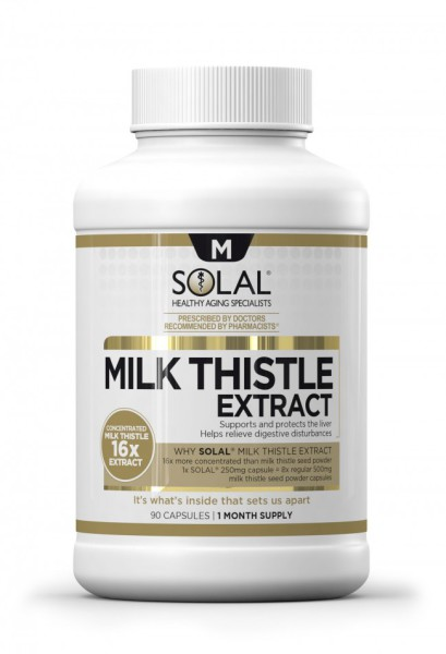 hangover prevention.Solal-Milk-Thistle