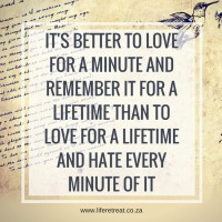 love for a minute
