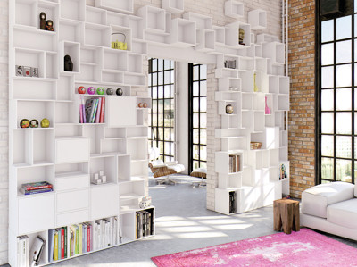 floor ceiling bookshelves