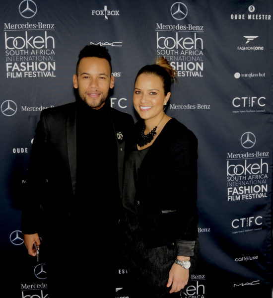 Above: Chad Saaiman and partner