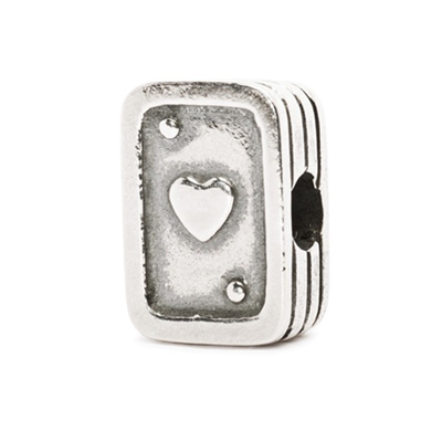 Playing Cards - Heart Bead