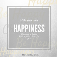 own happiness