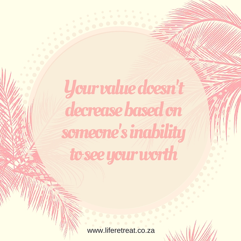 your value doesn t decrease