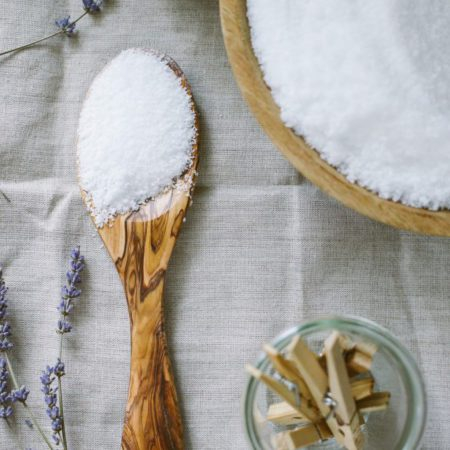 Make Your Own Foot Scrub With Epsom Salt