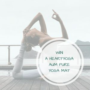 WIN A HEARTYOGA AUM PURE YOGA MAT