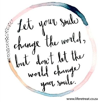 Inspirational Quote Change The World Life Retreat South Africa
