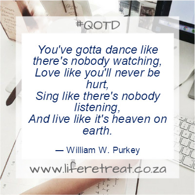 Inspirational Quote – Dance