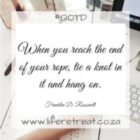 End Of Life Quotes Inspirational Inspiration Inspirational Quote  The End  Life Retreat  South Africa