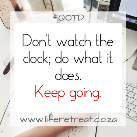 Inspirational Quote- Keep Going