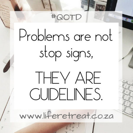 Words Of Wisdom – Stop Signs