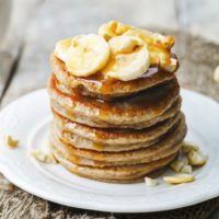 Coconut and Banana Protein Flapjacks