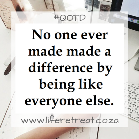 Inspirational Quote – Everyone Else
