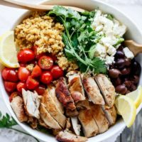 balsamic chicken quinoa