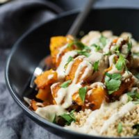 Butternut And Apple Buddha Bowl