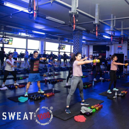 Sweat 1000 – The latest trend in fitness