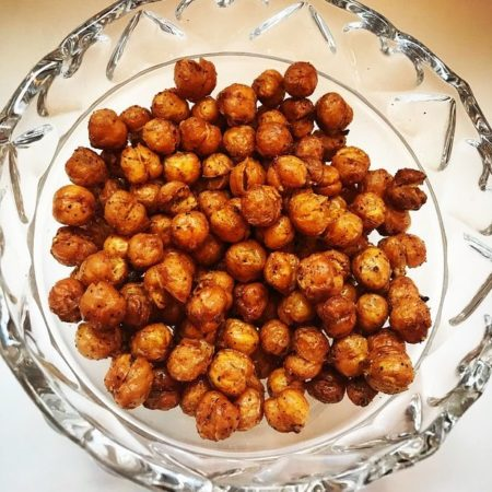 Recipe Of The Week - Garlic Parsley Chickpeas