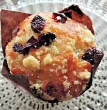 Coconut & Cranberry Muffins Recipe