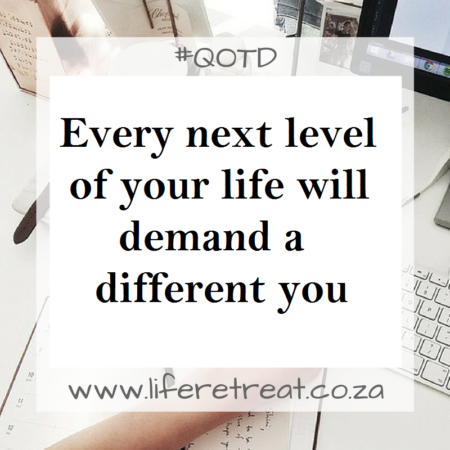 Inspirational Quote Next Level Life Retreat South Africa