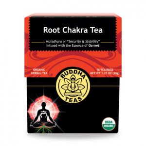 red box Root Chakra tea