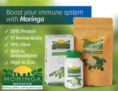 5 Reasons why the leafy-green superfood - Moringa is trending right now!